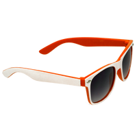 White/Orange Daytona Sunglasses Thumb