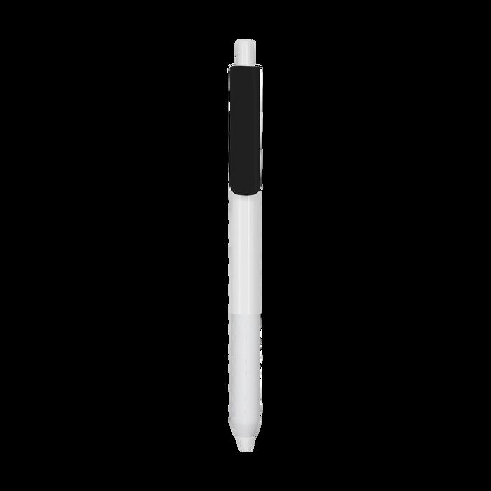 Black with Blue Ink Antibacterial Pen