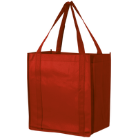 Red Thrifty Grocery Tote Thumb