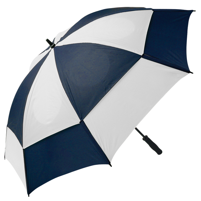 Navy/White Gemini Umbrella