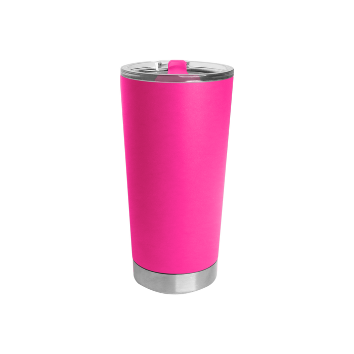 Neon Pink Small Stainless Steel Insulated Tumbler